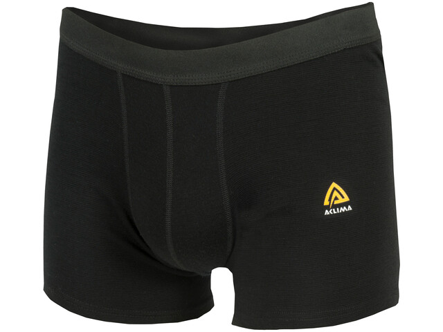 Aclima WarmWool Boxershorts Men Jet Black